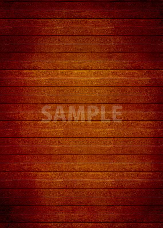 茶色の板の間のA4サイズ素材