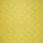 黄色のチェッカープレートのA4サイズ背景素材