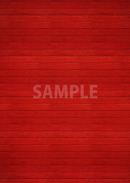 赤い板の間・木材のA4サイズ素材