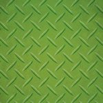 緑色のチェッカープレートのA4サイズ背景素材