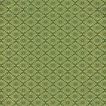 緑色の菊菱・和柄、A4サイズ背景素材