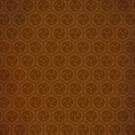 茶色の巴紋・和柄、A4サイズ背景素材
