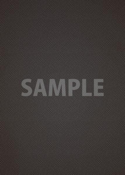 黒色の鮫小紋模様・和柄、A4サイズ背景素材