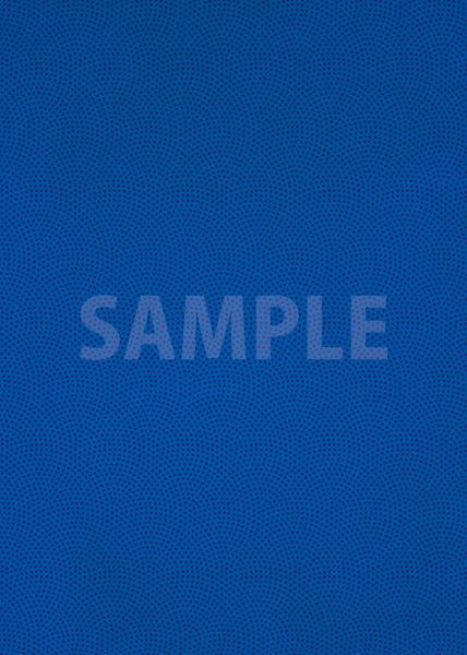 青色の鮫小紋模様・和柄、A4サイズ背景素材