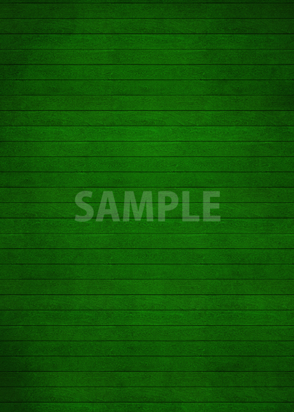 緑色の板の間・木材のA4サイズ素材