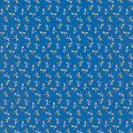 青色の勝ち虫・とんぼ柄、A4サイズ背景素材
