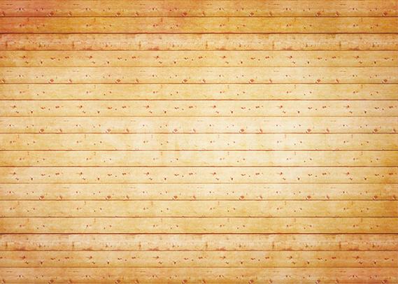 陽があたったような板の間・木材のA4サイズ背景素材