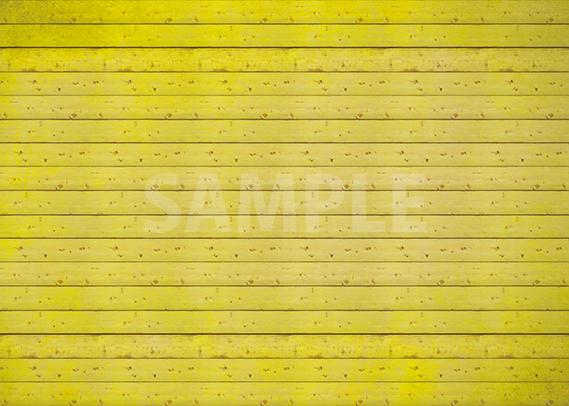 黄色の板の間・木材のA4サイズ背景素材データ