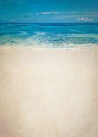 ビンテージ感のある海のA4(横長)サイズ背景素材