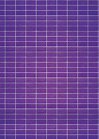 綺麗に整列する紫色のレンガのA4サイズ背景素材