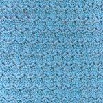 青色のウールのA4サイズ背景素材