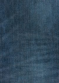 青いデニム生地のA4サイズ背景素材
