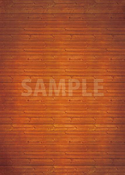 茶色のウッド・木目のA4サイズ背景素材