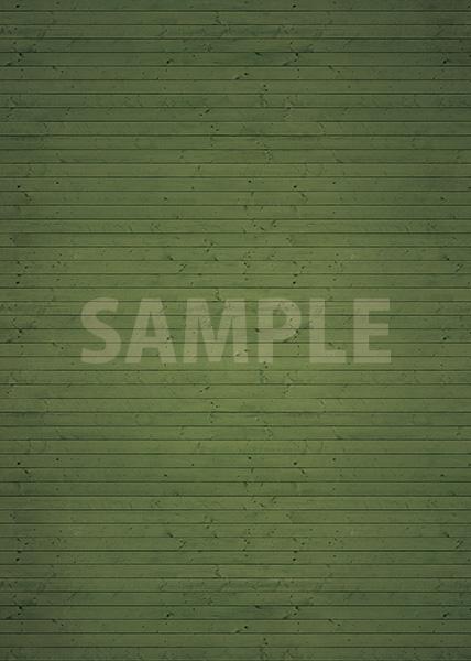 緑色の木目・フローリングのA4サイズ背景素材