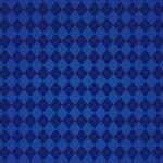 青いアーガイルチェック柄のA4サイズ背景素材