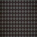 黒色のアーガイルチェック柄のA4サイズ背景素材