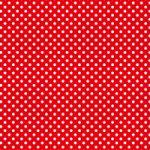 赤色ベースの白いドット柄のA4サイズ背景素材
