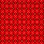 赤いアーガイルチェック柄、A4サイズ背景素材