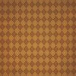 茶色いアーガイルチェック柄のA4サイズ背景素材