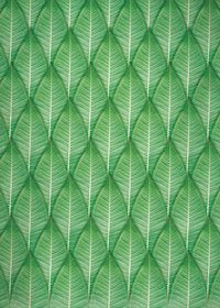 緑の葉っぱが全面に並ぶA4サイズ背景素材
