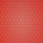 赤い亀甲柄のA4サイズ背景素材
