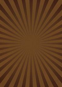 茶色の集中線のA4サイズ背景素材