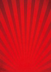 赤色の下に向かう集中線のA4サイズ背景素材
