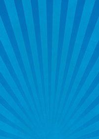 青色の下に向かう集中線のA4サイズ背景素材