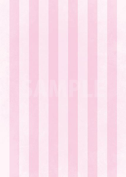 ピンクストライプのA4サイズ背景素材