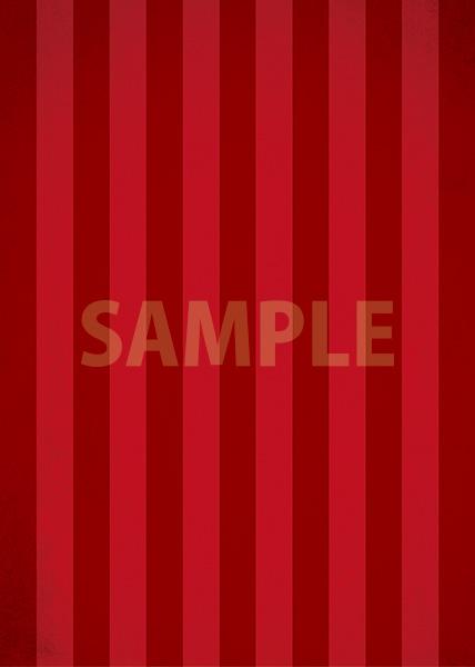 赤いストライプのA4サイズ背景素材