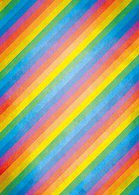 淡い虹色の斜線A4サイズ背景素材