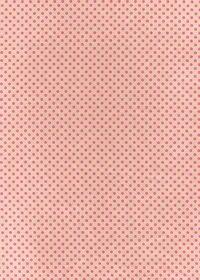 赤いドットが印刷された布のA4サイズ背景素材