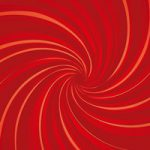 中央に渦巻状に集中する赤い効果線のA4サイズ背景素材