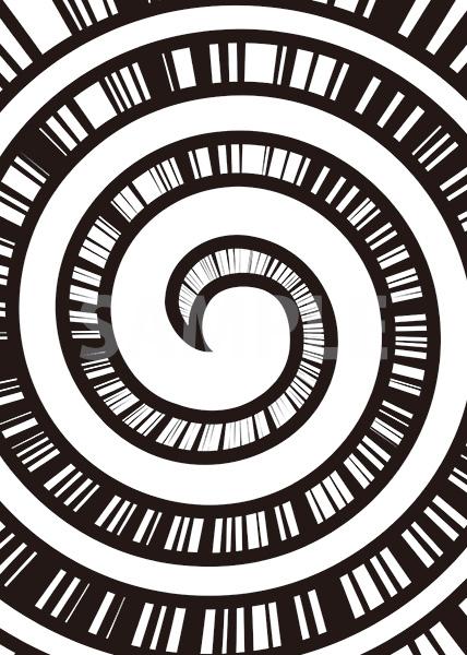 渦と集中線のA4サイズ背景素材