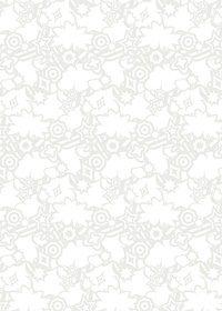 白色のポップなA4サイズ背景素材