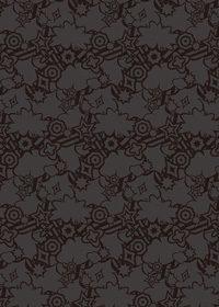 黒色のポップなA4サイズ背景素材