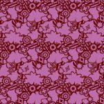 紫色のポップなA4サイズ背景素材