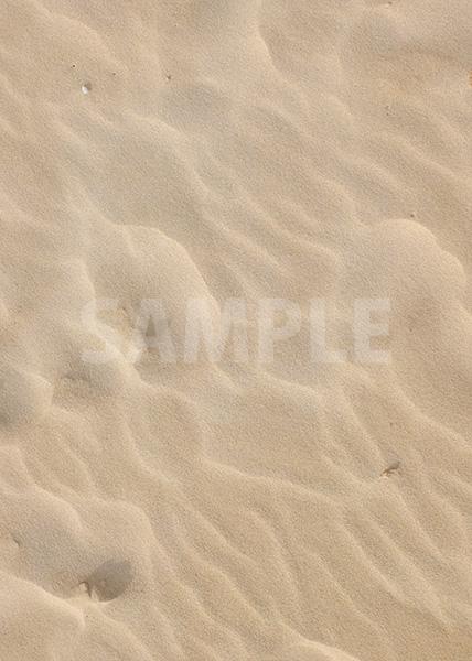 砂浜のA4サイズ背景素材データ