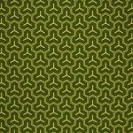 緑色の毘沙門亀甲・和柄のA4サイズ背景素材