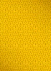 黄色の毘沙門亀甲・和柄のA4サイズ背景素材