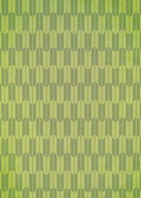 緑色の矢絣・和柄のA4サイズ背景素材
