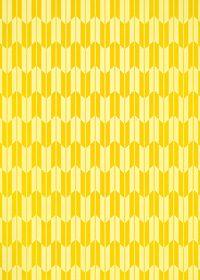 黄色の矢絣・和柄のA4サイズ背景素材