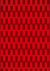 赤色の矢絣・和柄のA4サイズ背景素材