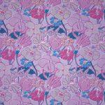 紫色の花のイラストのA4サイズ背景素材