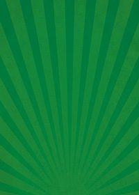 緑色の下に向かう集中線のA4サイズ背景素材