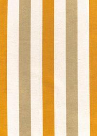 オレンジ・白・茶色のストライプ柄の生地のA4サイズ背景素材