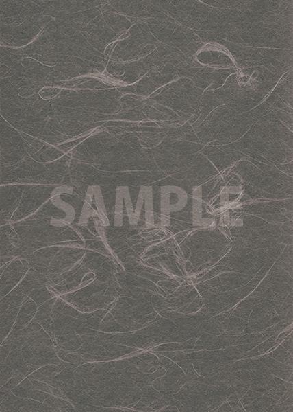 灰色の和紙のA4サイズ背景素材