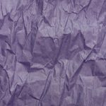紫色のくしゃくしゃな紙のA4サイズ背景素材