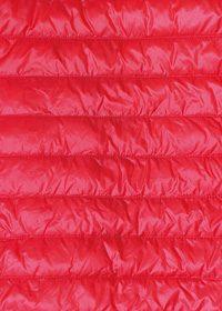 赤いダウンのA4サイズ背景素材データ