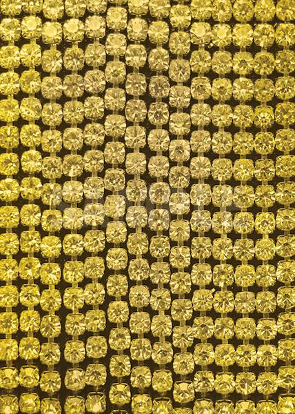 黄色のスパンコールがキラリと光るA4サイズ背景素材